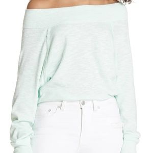 We The Free FP Palisades Off-The-Shoulder Sweater